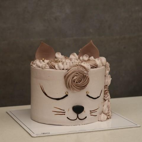 کیک گربه کد دو