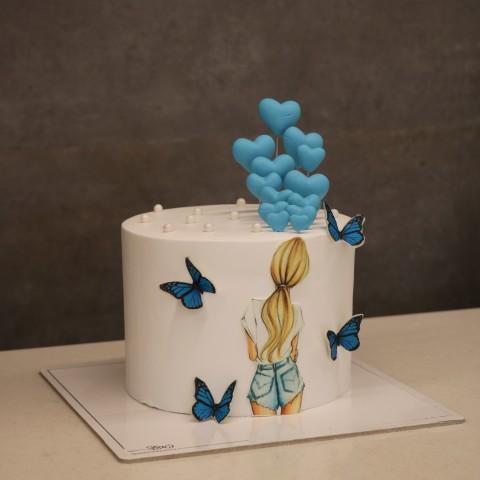 کیک دخترانه کد دو