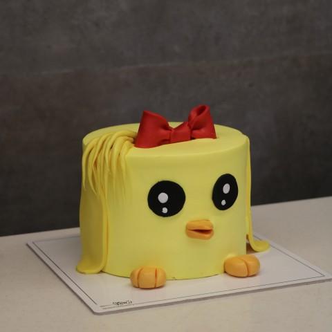 کیک جوجه