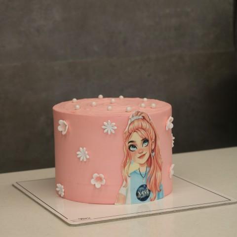 کیک دخترانه کد پنج