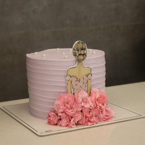 کیک دخترانه کد شش