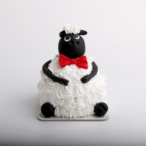 مینی دسر عروسکی گوسفند