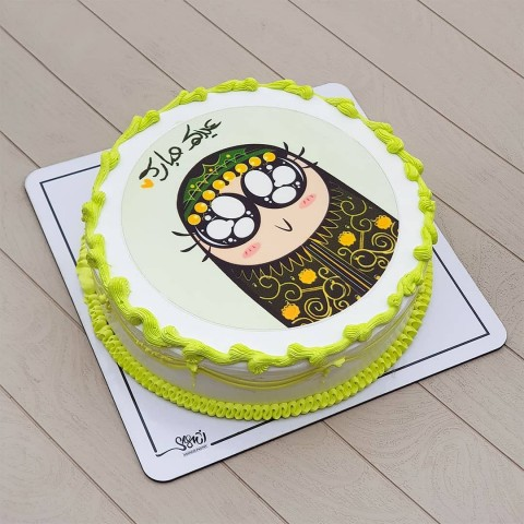 کیک عید غدیر کد پنج