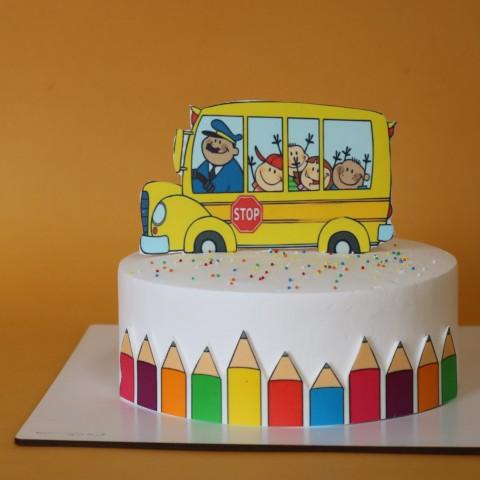 کیک مدرسه کد یک