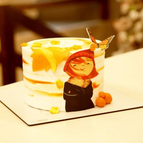 کیک پاییزی کد 01