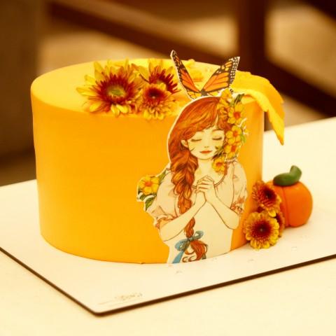 کیک پاییزی کد 02