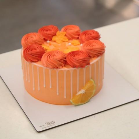 کیک پاییزی کد 03