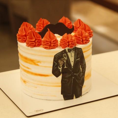 کیک مردانه پاییزی