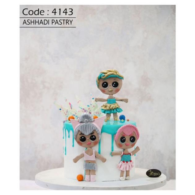کیک سفارشی کد 4143