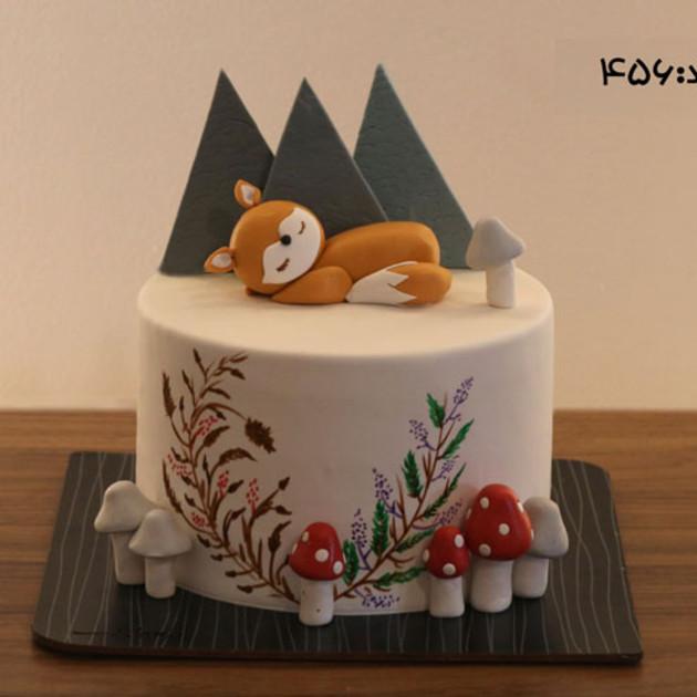 کیک سفارشی کد 456