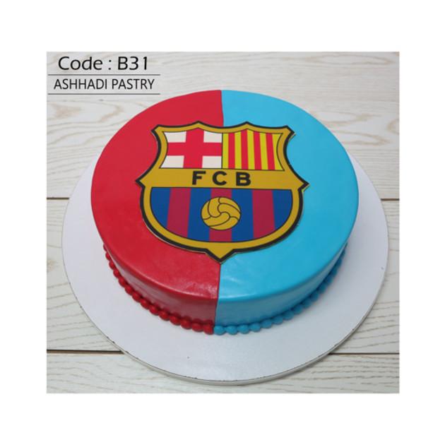 کیک سفارشی کدB31