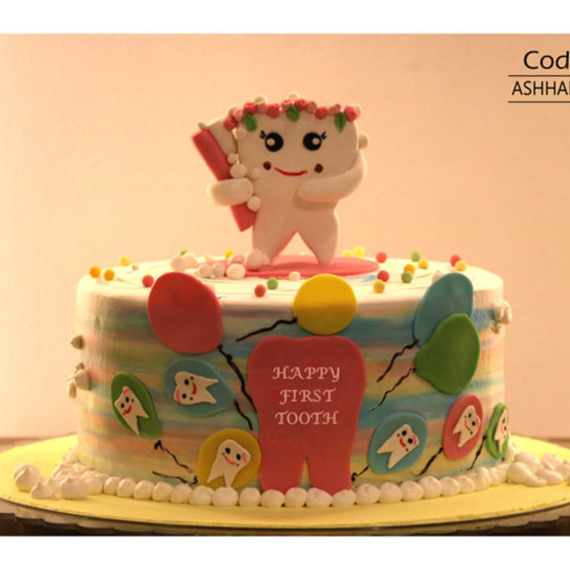 کیک سفارشی کد D3