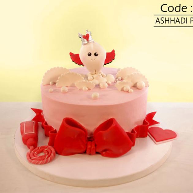 کیک سفارشی کد D7