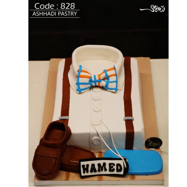 کیک سفارشی کد 828