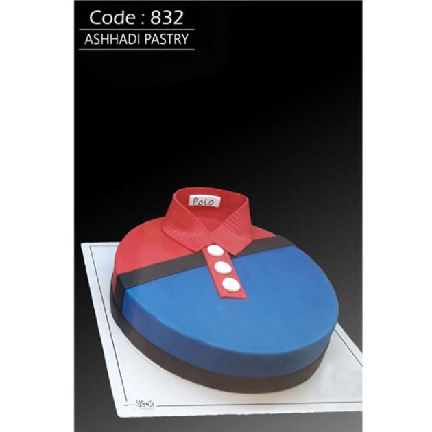 کیک سفارشی کد 832