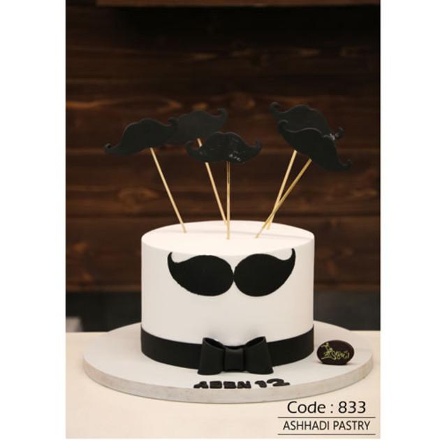 کیک سفارشی کد 833