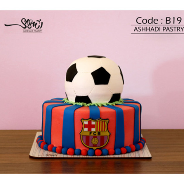 کیک سفارشی کد B19