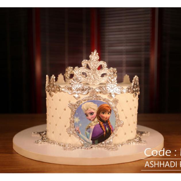 کیک سفارشی کد Elsa-(3)