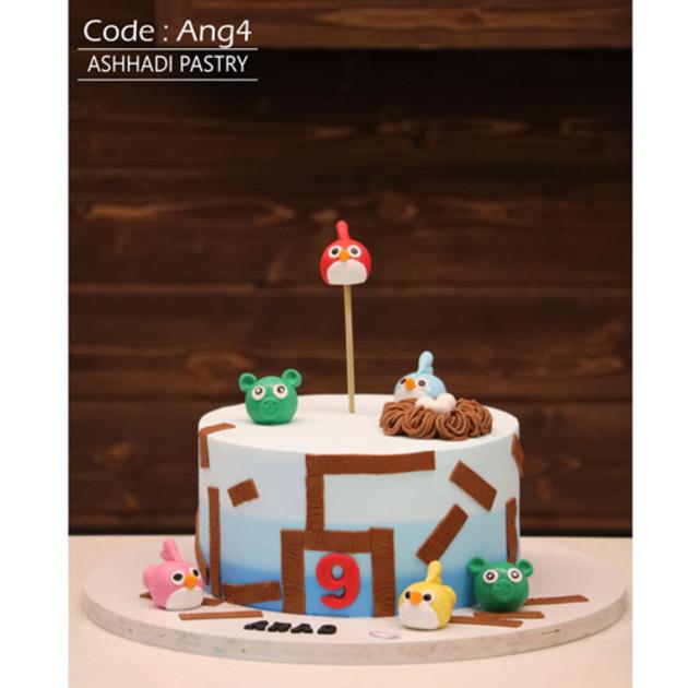 کیک سفارشی کد Ang-(4)