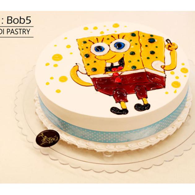 کیک باب اسفنجی کدBob-(5)