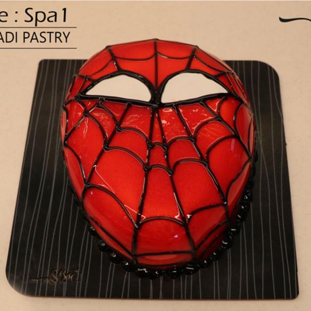 کیک اسپایدرمن کد Spa-(1)