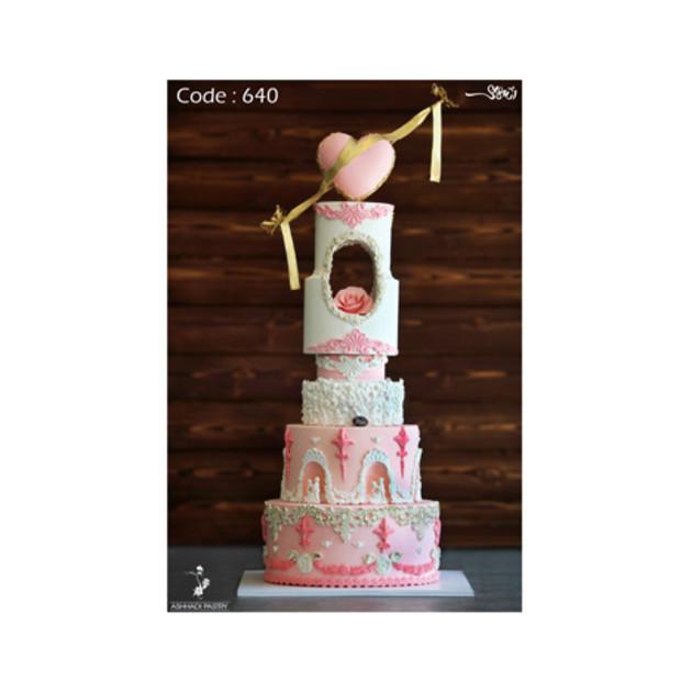 کیک عروسی کد 640