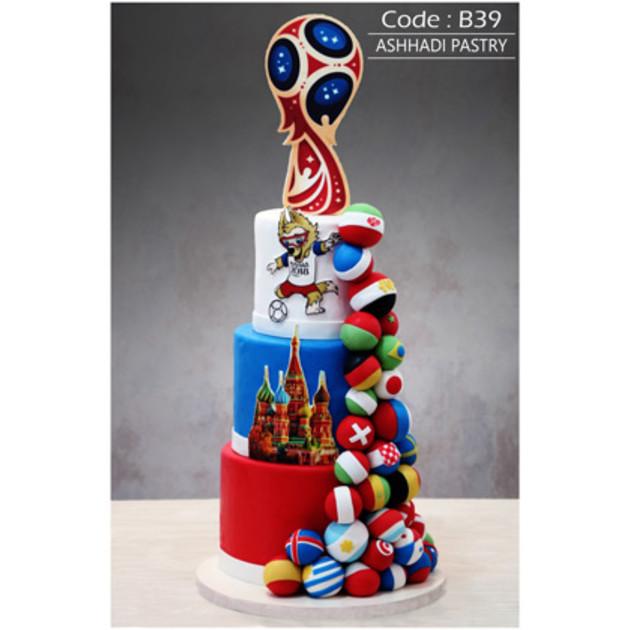 کیک سفارشی کد B39
