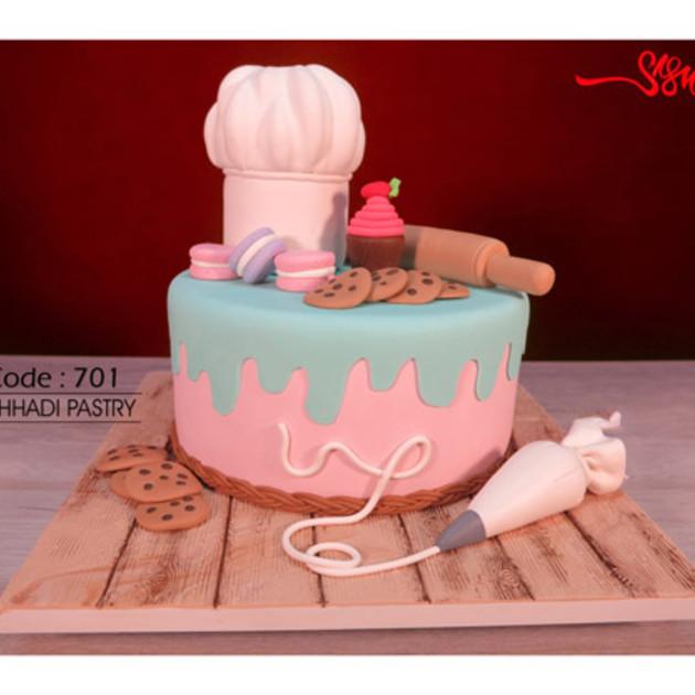 کیک سفارشی کد 701