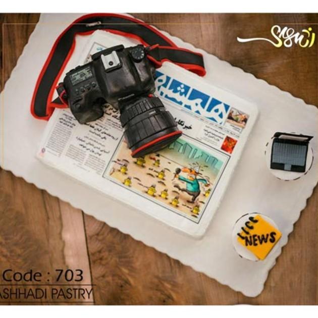 کیک سفارشی کد 703
