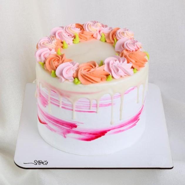 کیک خامه ای کد117