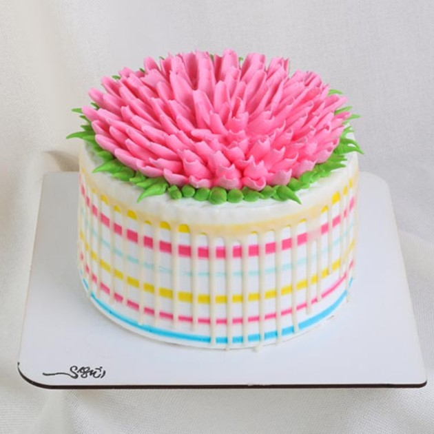 کیک خامه ای کد118