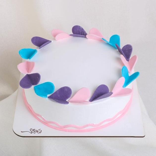 کیک خامه ای کد144