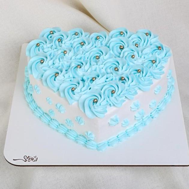 کیک قلب کد196