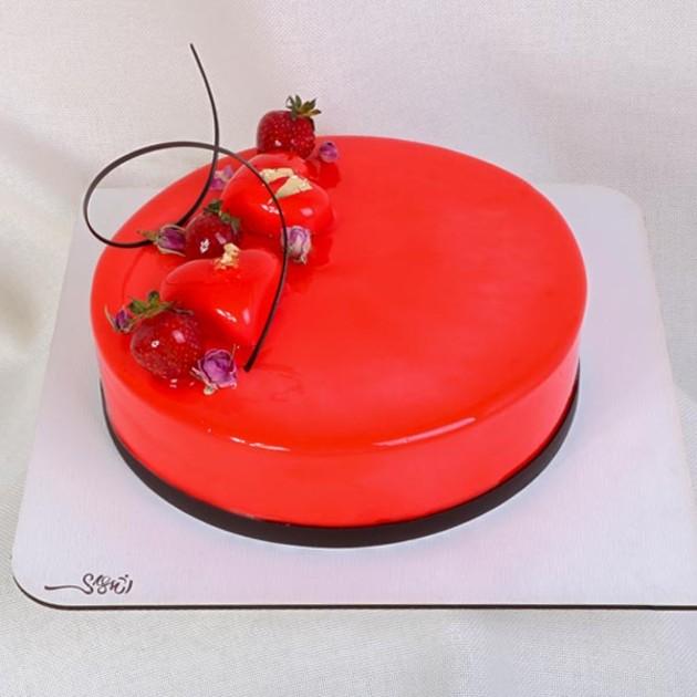 کیک ژله ای کد48
