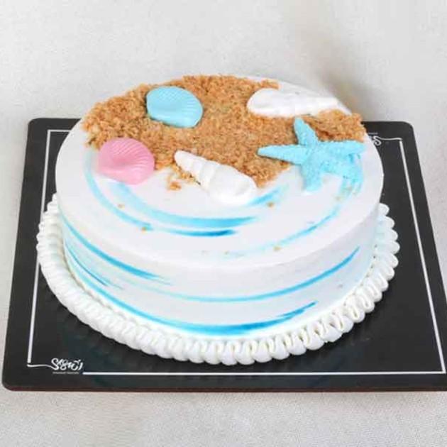 کیک خامه ای کد110