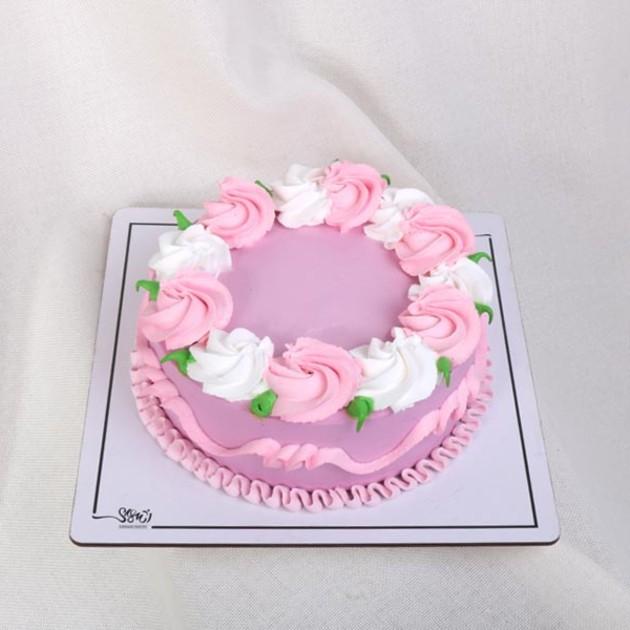 کیک خامه ای کد216