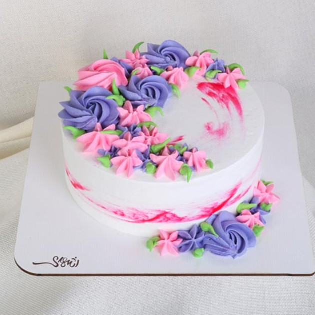 کیک خامه ای کد229