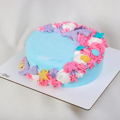 کیک خامه ای کد272