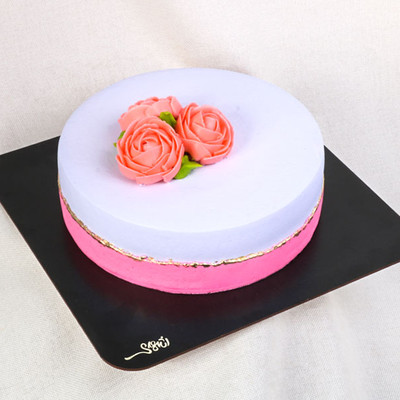 کیک خامه ای