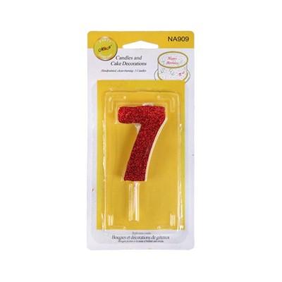 شمع عدد 7
