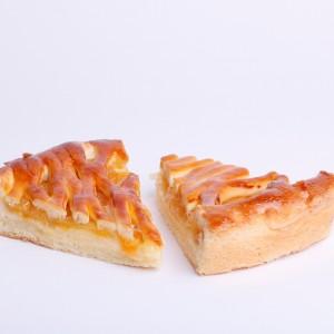 تارت پیتزایی با لایه میانی قیسی
