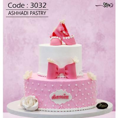 کیک سفارشی کد 3032