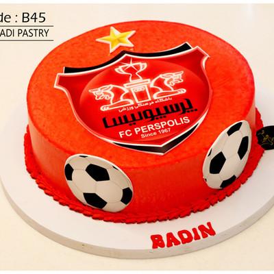 کیک سفارشی کد B45