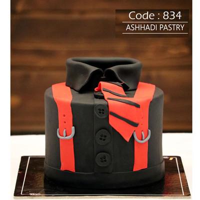 کیک سفارشی کد 834