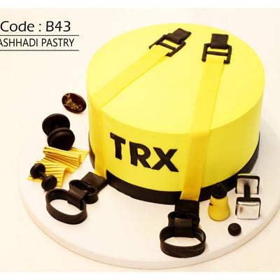 کیک سفارشی کد B43
