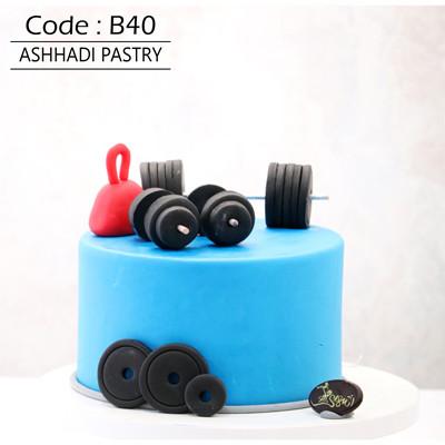 کیک سفارشی کد B40