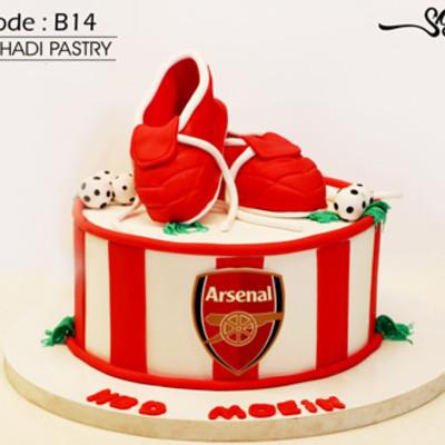 کیک سفارشی کد B14