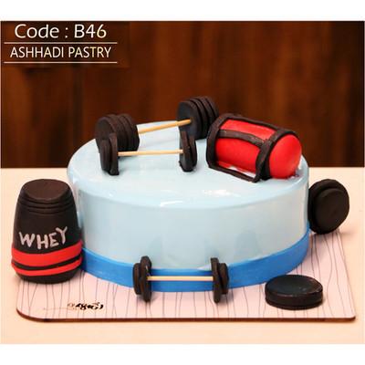 کیک سفارشی کد B46