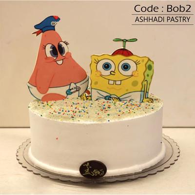 کیک باب اسنجی کد Bob-(2)