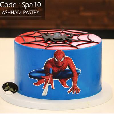 کیک اسپایدرمن کد Spa-(10)